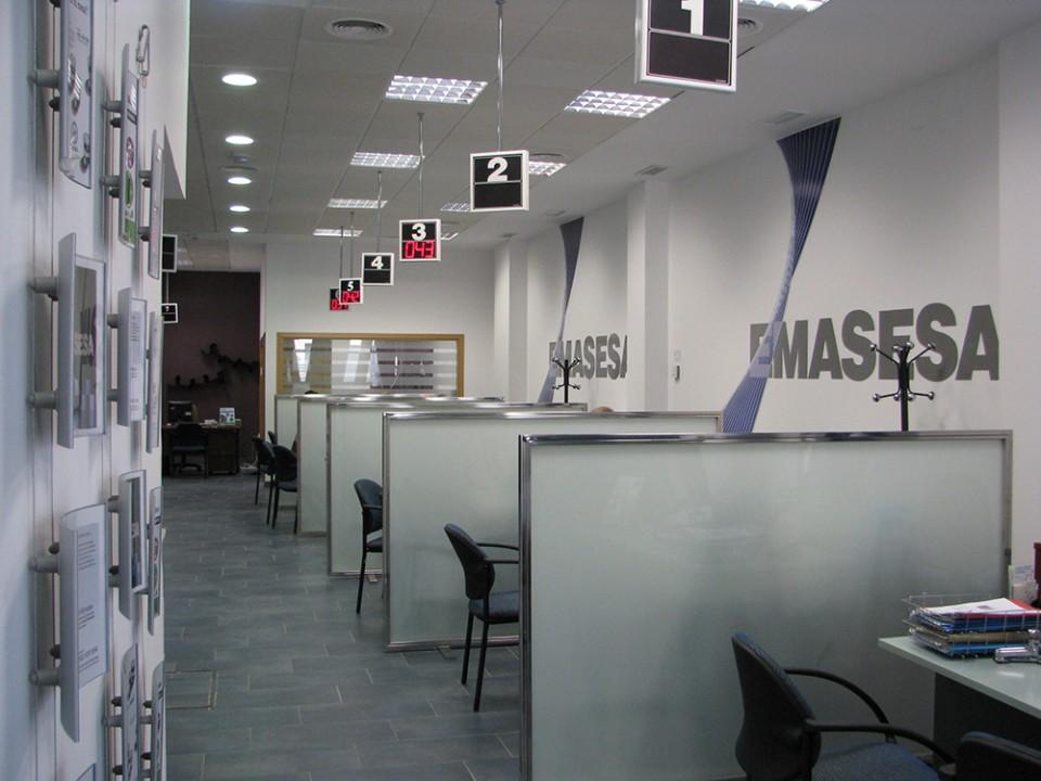 Construcción de oficinas EMASESA