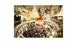 arquitectura navidad centro comercial