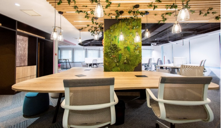 rehabilitacion de espacios de oficina