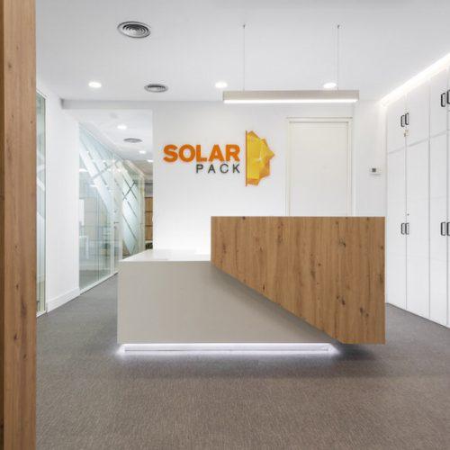 Adecuación de oficina de Solarpack